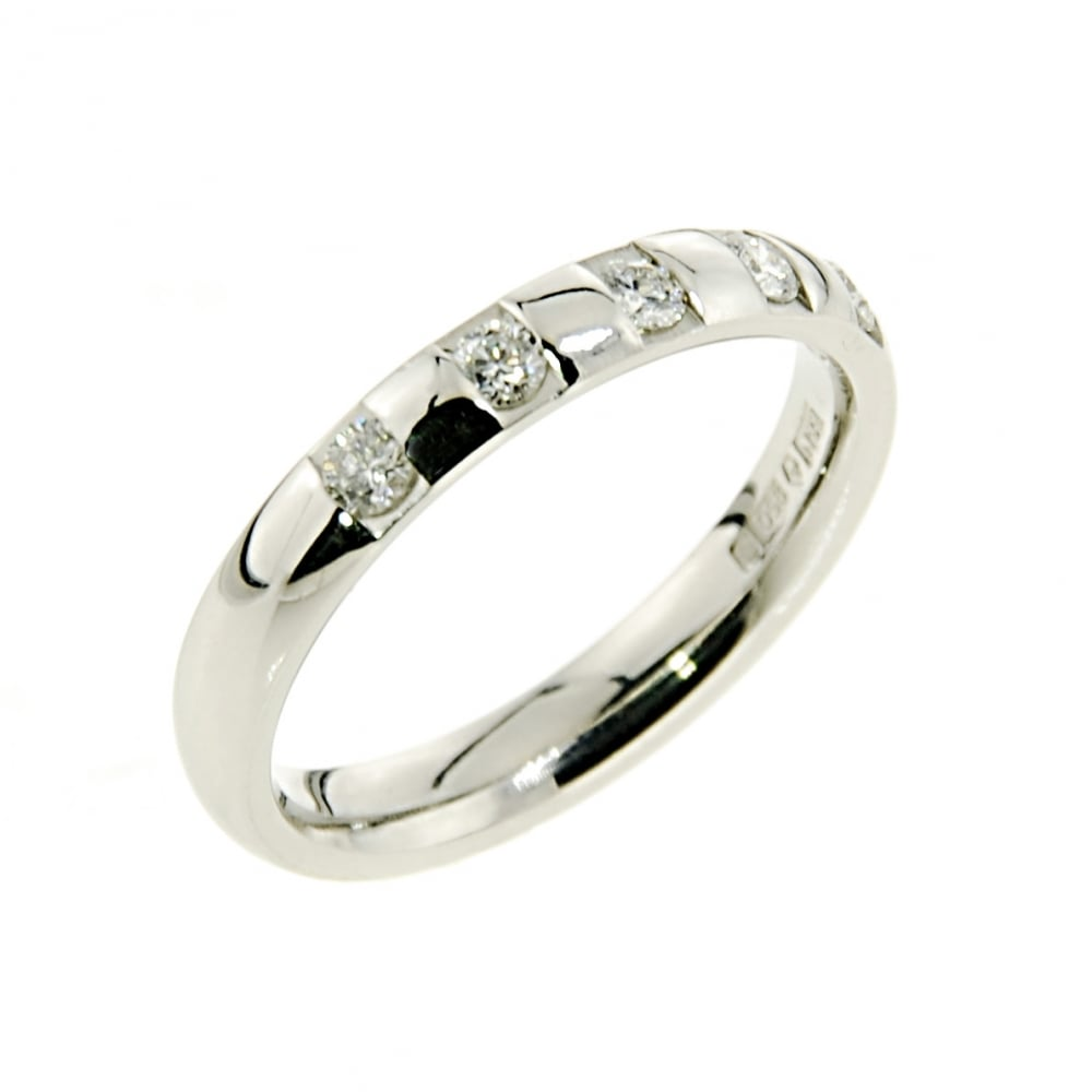 and hers mainwh tone two his by bands diamond gold ring wedding luxurman set platinum
