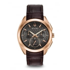 Rose Gold Plated Curv Chronograph