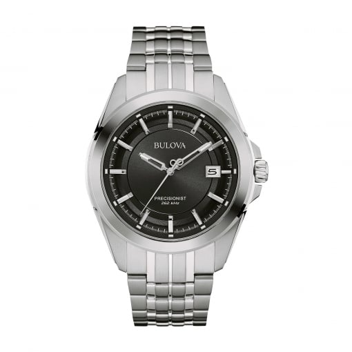 Bulova Stainless Steel Precisionist Bracelet Watch