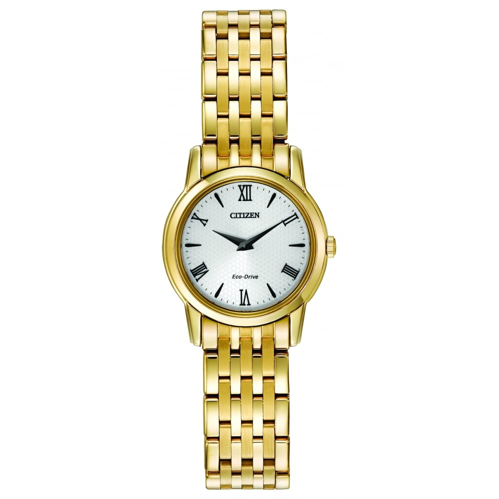 963c707c9b6 Citizen EcoDrive Ladies Gold Plated Bracelet Watch - Watches from ...