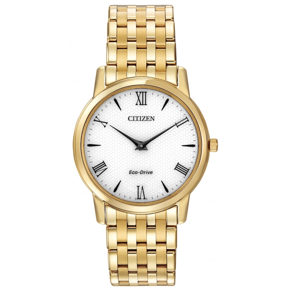 5f65aa32e89 Citizen EcoDrive Men s Gold Plated Stiletto Watch - Watches from ...