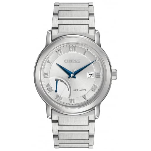 Citizen EcoDrive Men's Power Reserve Bracelet Watch