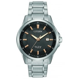 Men's Titanium Bracelet Watch