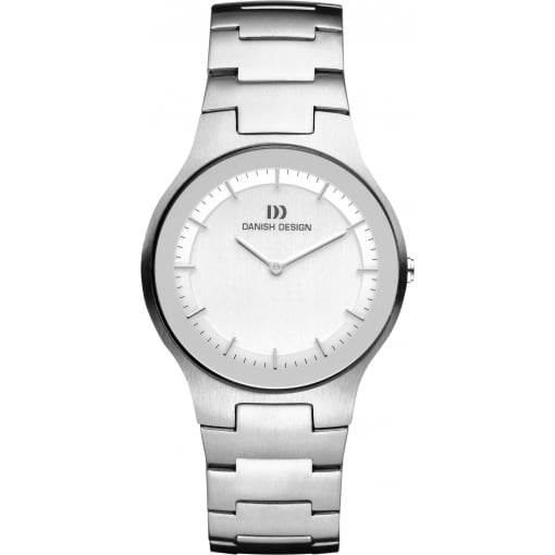 Danish Design Bracelet Watch with Silver Dial