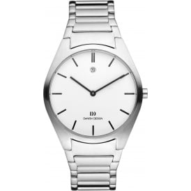 Danish Design Bracelet Watch with White Dial