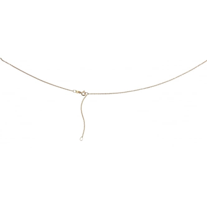 Elements Gold 9ct Yellow Gold Trace Chain