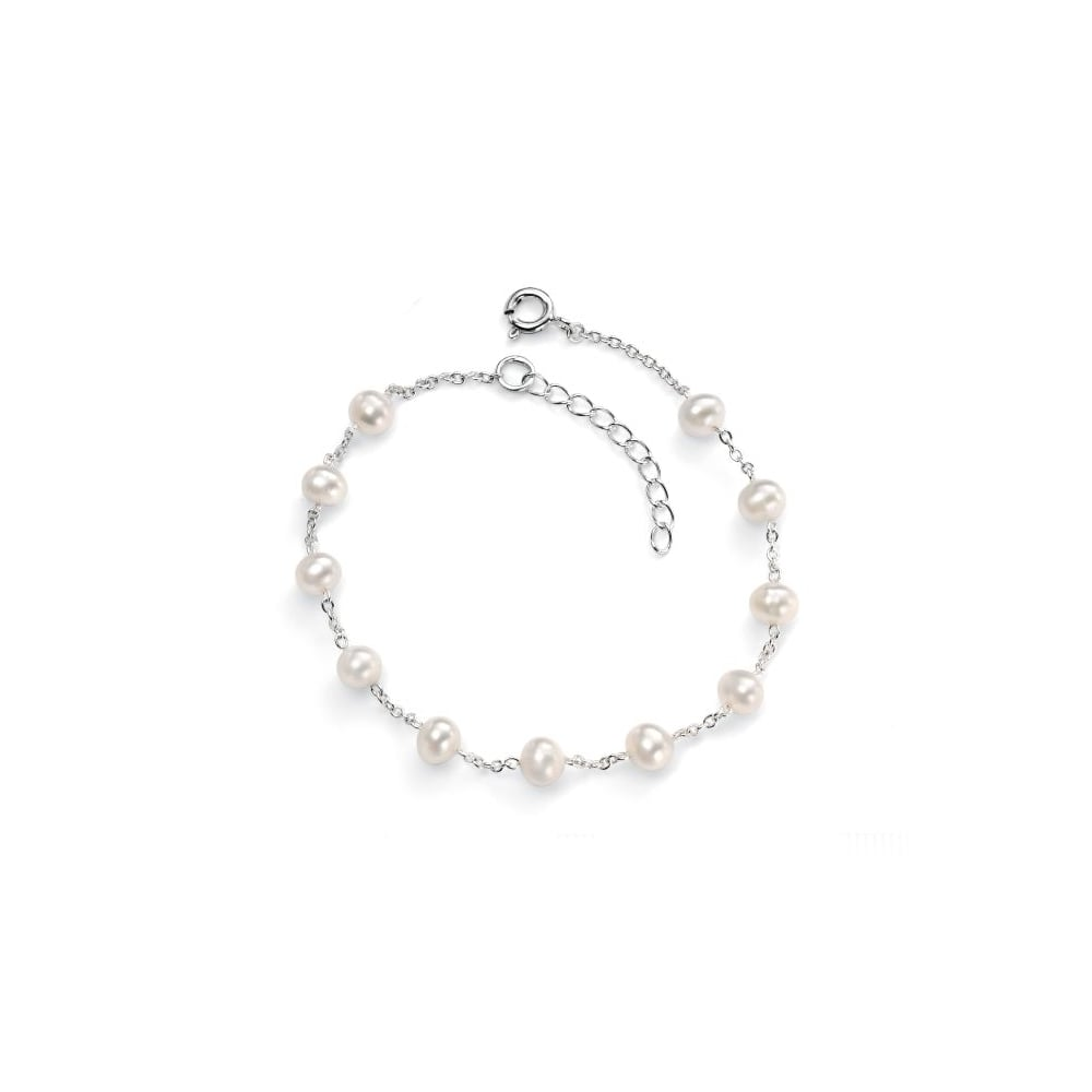 p quick white bracelet baroque pearl view