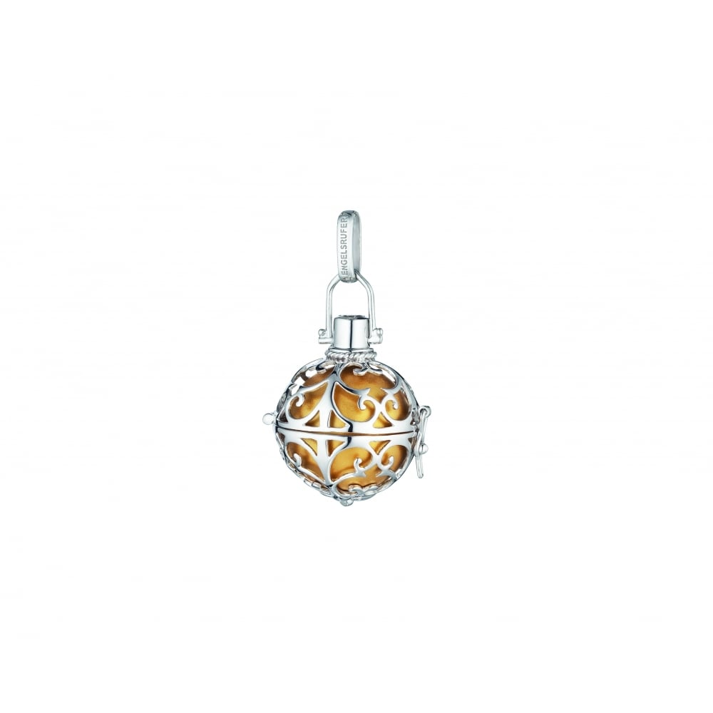 gold with soundball pendant small silver ladies engelsrufer from image