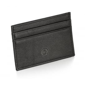 Black Leather Card Wallet