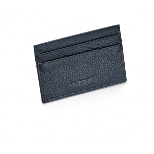 Fred Bennett Blue Leather Card Wallet