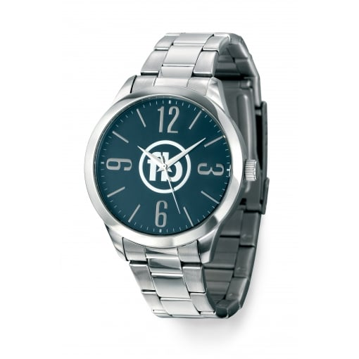 Fred Bennett Classic Fred Bennet Bracelet Watch with Blue/Grey Dial