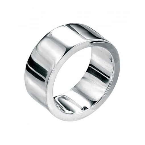 Fred Bennett Sterling Silver 10mm Flat Band