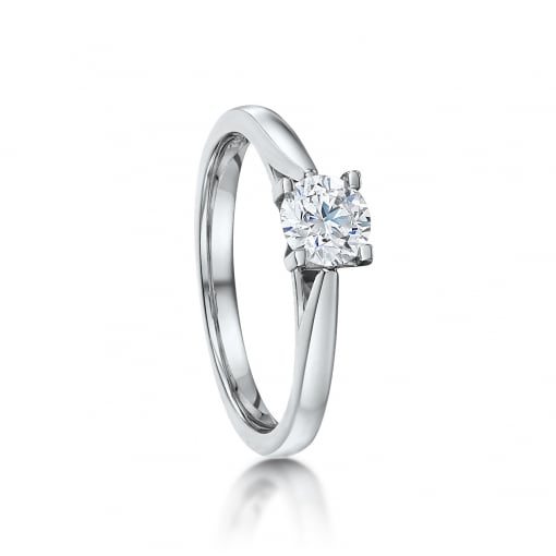 Goodwins 18ct White Gold Diamond Ring