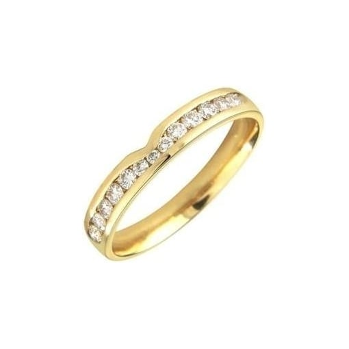 Goodwins 18ct Yellow Gold Eternity Ring with Diamonds
