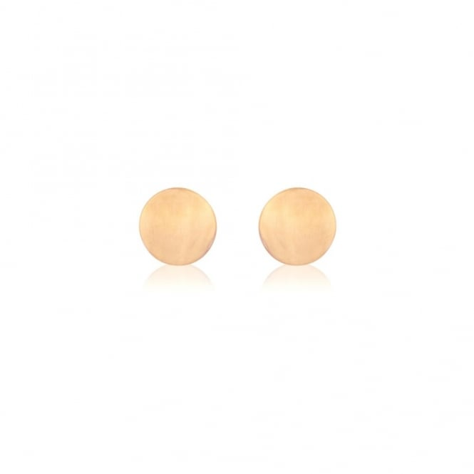 Goodwins 9ct Rose Gold Stud Earrings