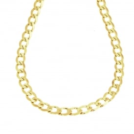 9ct Yellow Gold 20 inch Curb Chain