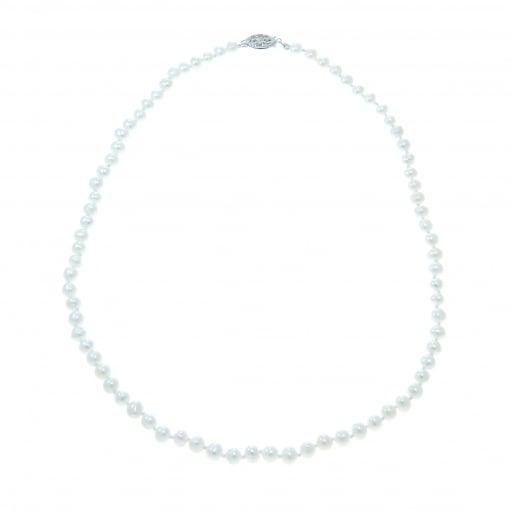 Goodwins Freshwater Pearls Necklet with Silver Clasp