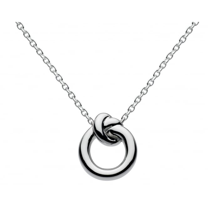 Kit Heath Silver Amity Pendant and Chain