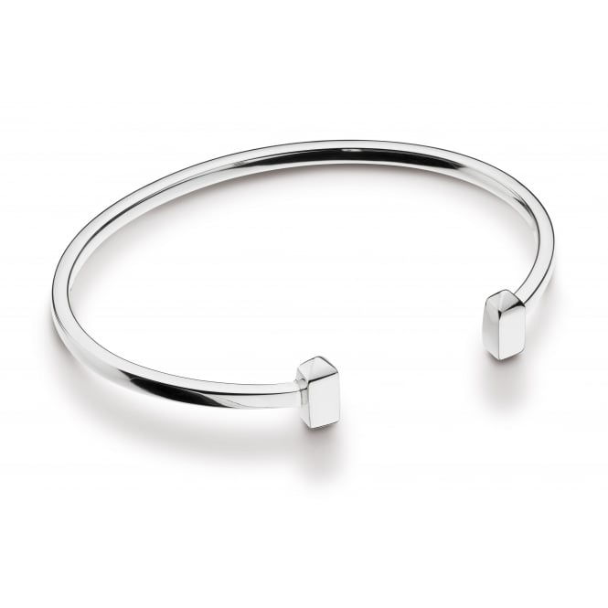 Kit Heath Silver Manhattan Torque Bangle