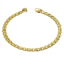 9ct Yellow Gold Anchor Link Bracelet