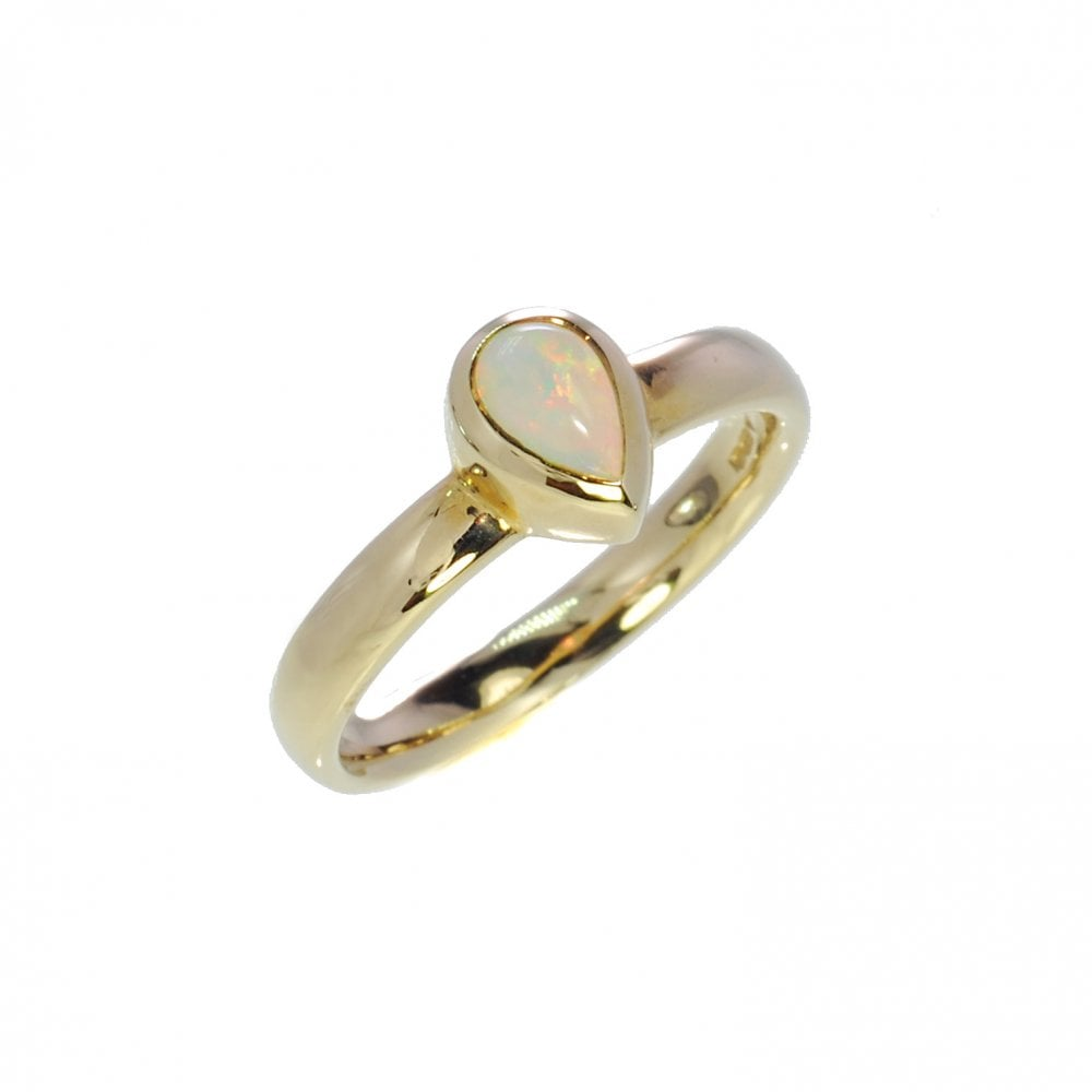 5d7cb0c8e Prism 9ct Yellow Gold Opal Ring - Ladies from Goodwins Jewellers UK