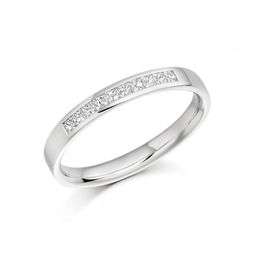 Raphael Collection 18ct White Gold Diamond Band