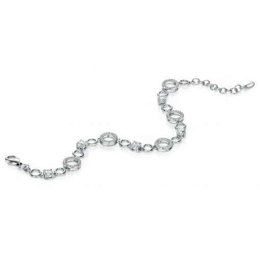 Fiorelli Silver and Cubic Zirconia Bracelet from