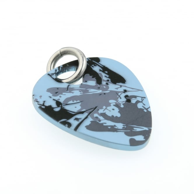 Ti2 Titanium Plectrum Shaped Pendant