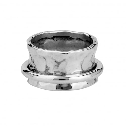 Tianguis Jackson Silver Concave Spin Ring