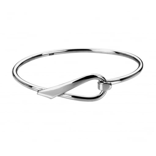 Tianguis Jackson Silver Hook and Loop Bangle