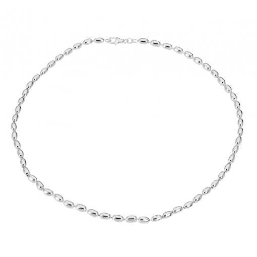Tianguis Jackson Sterling Silver Bead Necklet