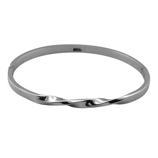 Tianguis Jackson Sterling Silver Twist Bangle
